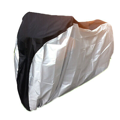 Universal Bike Bicycle Cover Waterproof Outdoor For MTB Road & All Bikes Silver