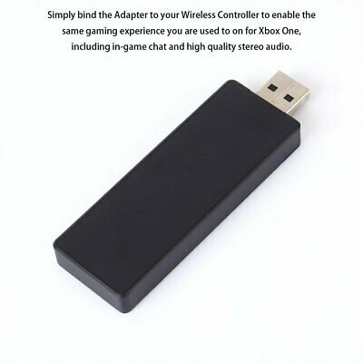 Wireless Adapter PC Receiver for Microsoft XBOX ONE Work for Windows 7/8.1/10 US
