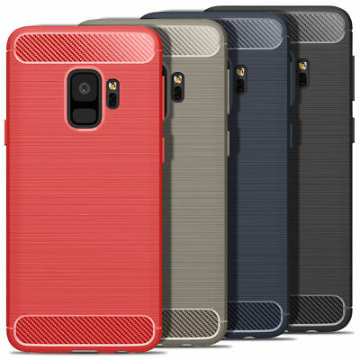 Luxury Silicone Shockproof Rugged Back Case Cover For Samsung Galaxy S6 S7 S8 S9