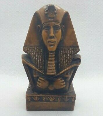 Figurine Ancient Egyptian Statue of Pharaoh Tutankhamun Vintage Rare Goddess