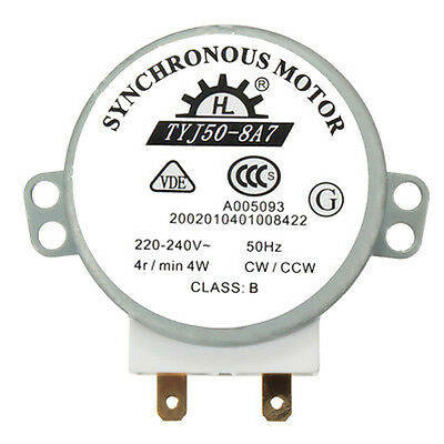 CW/CCW Microwave Turntable Turn Table Synchronous Motor TYJ50-8A7D Shaft H_ns