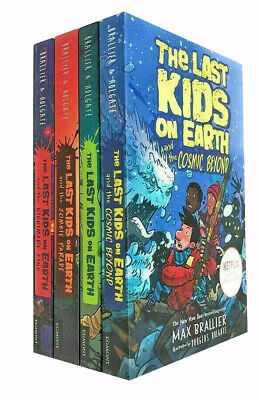 Max Brallier 4 Books Collection Set The Last Kids on Earth Series Paperback NEW
