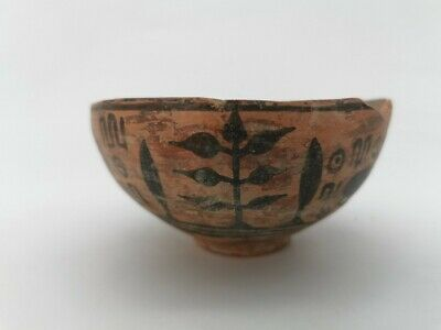 Ancient Indus Valley Terracotta Vessel With Antelope - R 17