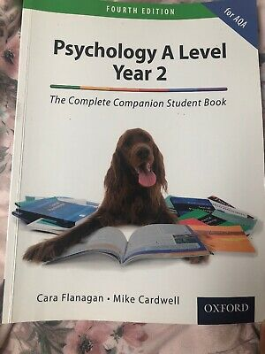 The Complete Companion for AQA Psychology A Level: Year 2 Student Book by...