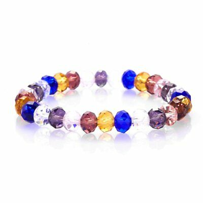 Fashion Crystal Rhinestone Stone Handmade Bead Bracelet Bangle Women Jewelry Hot