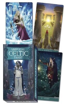 UNIVERSAL CELTIC TAROT DECK Card Set pagan magick druid oracle cards