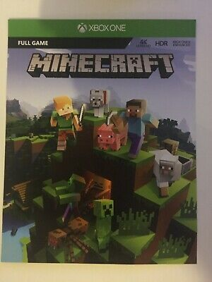 Minecraft Full Game Xbox One Download Key