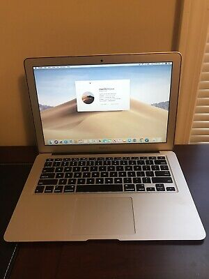 "Apple MacBook Air 13"" Intel Core i5 1.6GHz 8GB 128GB SSD 10.14 (Early 2015)"