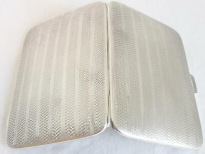 Stunning Mappin & Webb Solid Silver Cigarette Case / Card Case Birmingham 1927