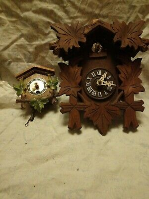 Two Cuckoo Clock For Spares Or Repairs