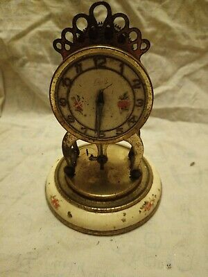 Old Small Schatz Clock Movement For Spares Or Repairs
