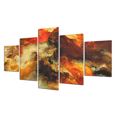 5Pcs Star Cluster Abstract Canvas Print Art Oil Painting Picture Home Wall