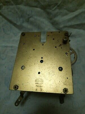 Haller Clock Movement For Spares Or Repairs