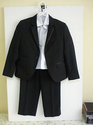 Fit 4 to 5 year-old CHILD'S FORMAL SUIT complete - dress shirt, trousers jacket.
