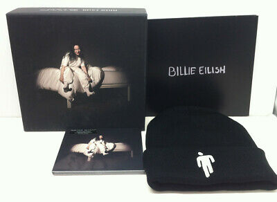 BILLIE EILISH When We All Fall Asleep 2019 PROMO Box With CD, Booklet & Beanie