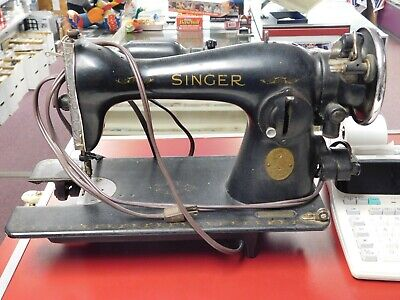 Vintage Singer Sewing Machine, For Parts or Repair