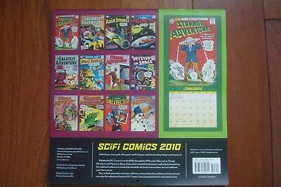 Scifi Comics Dc Comics Archives From 1950'S To 1970'S Calendar 2010