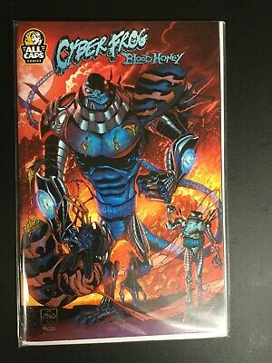 COPY OF CYBERFROG: BLOODHONEY with a new  VARIANT Cover C Team up