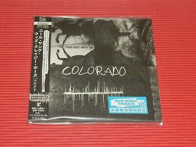 2019 Japan Only Shm Cd Neil Young Crazy Horse Colorado Paper Sleeve