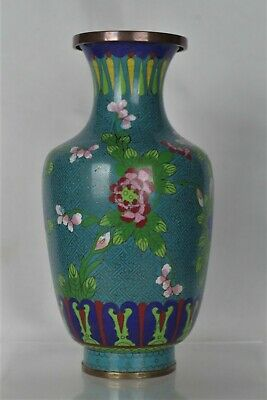 Beautiful Antique Chinese Cloisonne Decorative Vase