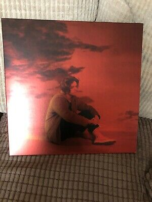LEWIS CAPALDI DIVINELY UNINSPIRED TO A HELLISH EXTENT RED VINYL LP Played Once.