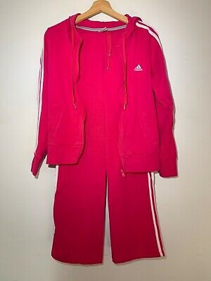 ADIDAS vintage hot pink tracksuit. Size M, fits S and L also. Good condition.