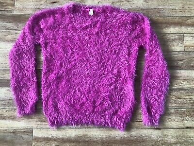 Primark Jumper, Top/ Age 11-12/ Bright Pink/ Furry Soft Touch/ Excellent Cond