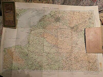 Somerset, The Levels,Bristol: The Classic Ellis Martin Covered Ordnance Map:1925