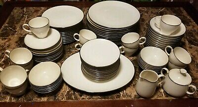 92 Piece Vintage Noritake Lorilei China Set - Service For 12 - Excellent Cond.
