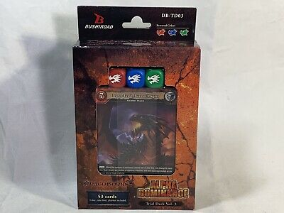 Dragoborne-Rise To Supremacy Alpha Dominance Trial Deck  Factory Sealed