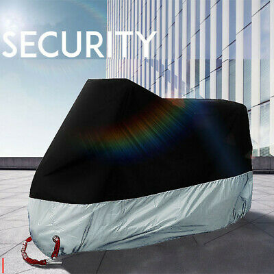 Motorcycle Waterproof Cover Outdoor Vented Scooter Motorbike Shelter Oxford XL