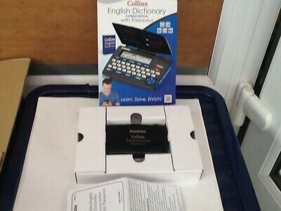 Franklin Collins English Dictionary Express Edition With Thesaurus