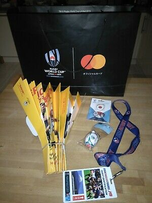 Rugby World Cup Japan 2019 Memorabilia official items
