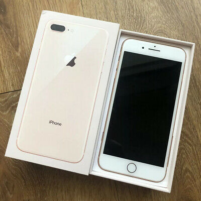 Apple IPhone 8 Plus 64gb Rose Gold Unlocked Excellent Condition With Box