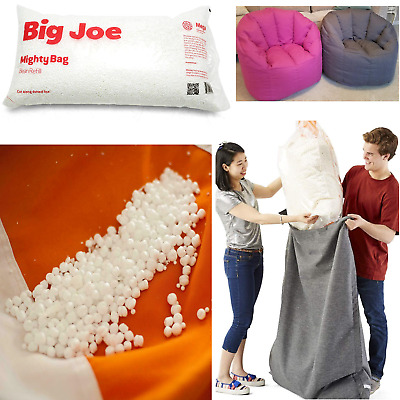 Terrific Bean Bag Chair Refill White Popped Polystyrene Replacement Inzonedesignstudio Interior Chair Design Inzonedesignstudiocom