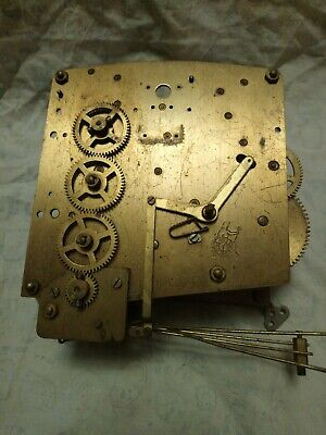 Large Perivale Clock Movement No2 For Spares Or Repairs