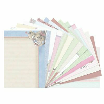 Hunkydory Teddy Loves Luxury Card Inserts  A4, 16pk