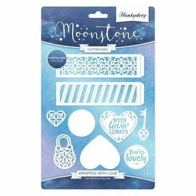 Hunkydory Moonstone Die Wrapped with Love  9pc Set