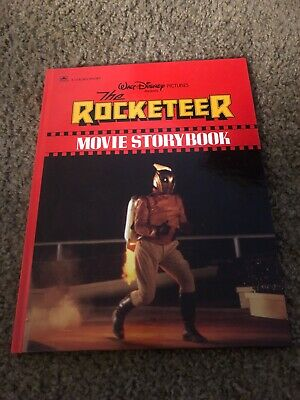 Vintage 1991 Walt Disney the rocketeer movie storybook hardback
