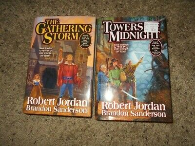 Wheel of Time Series #12 and #13  R. Jordan/B. Sanderson 2 Hardcover Books