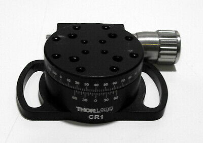 Nice Thorlabs Precision Continuous Rotation Stage Model CR1