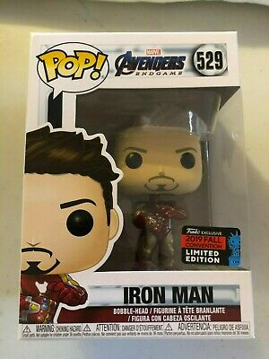 Funko Pop Avengers Endgame Iron Man Gauntlet NYCC 2019 Amazon Shared IN HAND