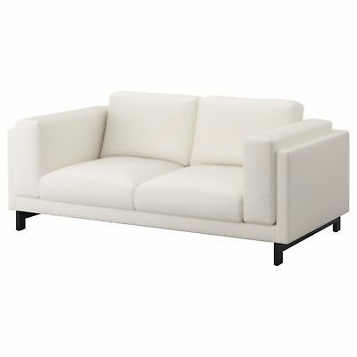 Incredible Ikea Nockeby Risane Gray Replacement Loveseat Sofa Couch Gmtry Best Dining Table And Chair Ideas Images Gmtryco