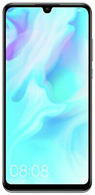 SIM Free Huawei P30 Lite 6.15 Inch 128GB 4GB 48MP Android Mobile Phone - White