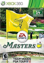 Tiger Woods PGA Tour 12: The Masters (Microsoft Xbox 360, 2011) VERY GOOD