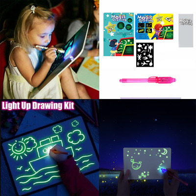 Draw With Light Fun And Developing Toy Drawing Board Magic Draw Educational USA!