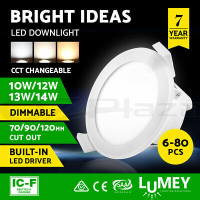 Lumey LED Downlight Kit 10W 12W 14W IP44 Color Changing Dimmable Luminaire