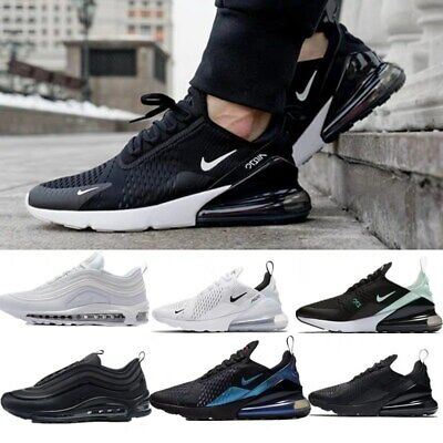 Mens Women's Air-Max 270 Running Shoes Light Sport Trainer Sneakers Size UK 3-10