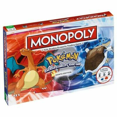 Pokemon Go MONOPOLY - Perfect Family Party Card Game Board Game Toys Xmas Gift