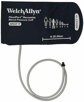 Welch Allyn REUSE-11-1TP Flexiport Reusable Blood Pressure Cuff - Adult